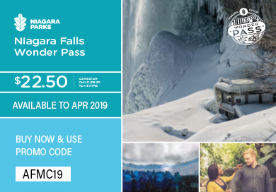 Download special Niagara Falls Wonder Pass
