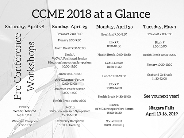 CCME At a glance